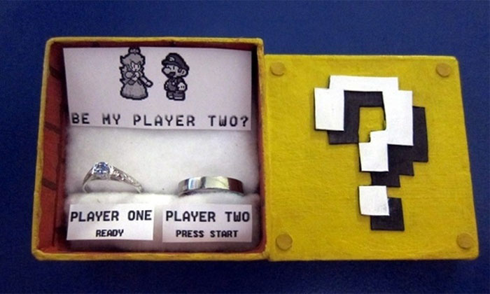 20+ Geeky Engagement Rings And Boxes No Geeky Girl Can