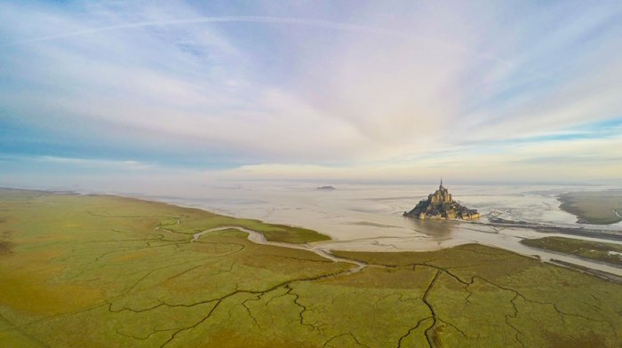 Mont Saint Michel, In Normandie, France