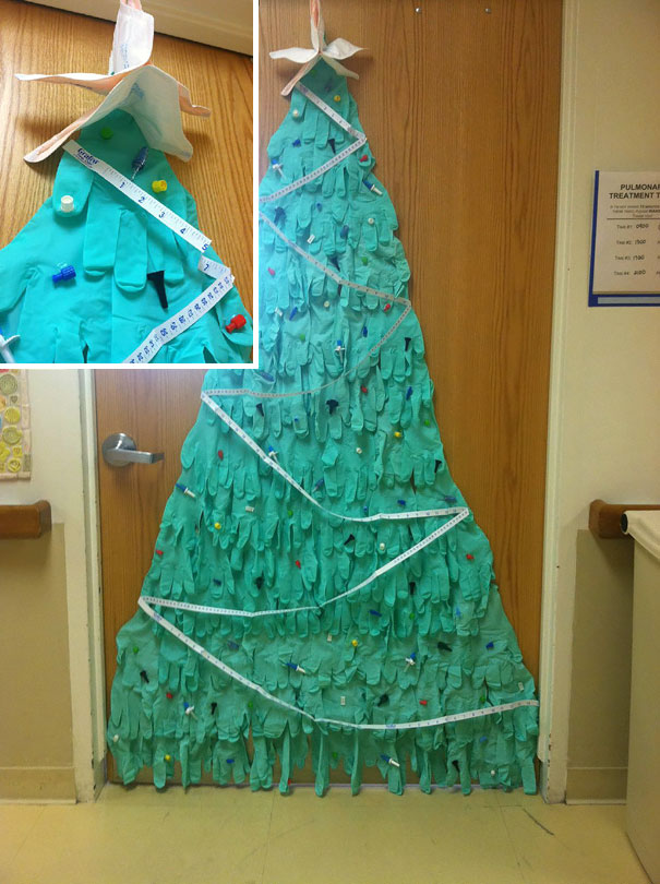 10+ Hospital Christmas Decorations That Show Medical Staff