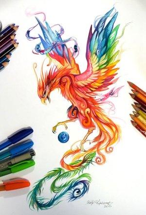 marker pencil drawing animal katy lipscomb artist illustrations wild spirits interview