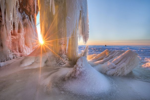 Resplandor en la oscuridad, Apostle Islands National Lakeshore, Wisconsin
