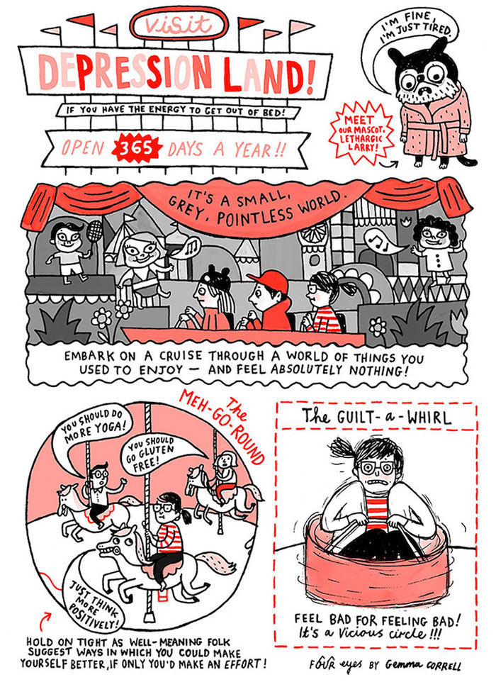 Anxiety Comics