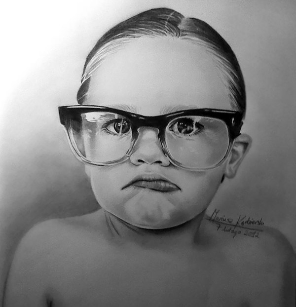Realistic Portrait Drawing