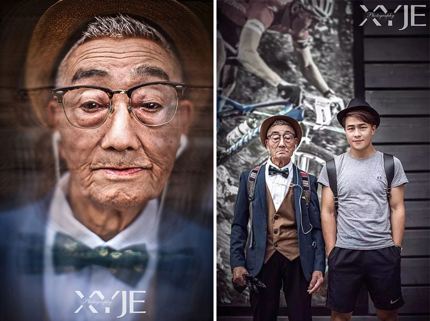grandson-transforms-grandfather-fashion-trip-xiaoyejiexi-photography-19