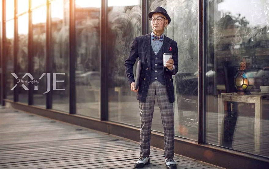 grandson-transforms-grandfather-fashion-trip-xiaoyejiexi-photography-2