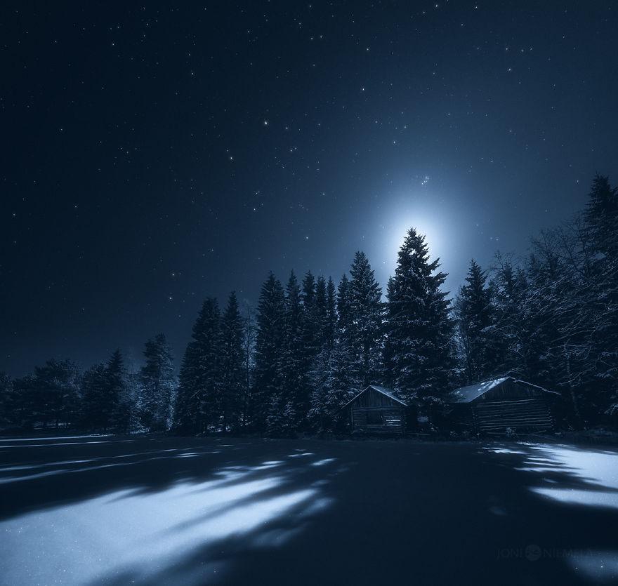I Captured The Finnish Night Sky  Bored Panda
