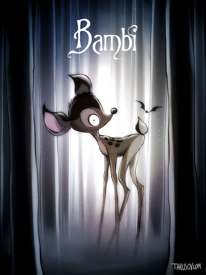 Bambi, Directed By Tim Burton