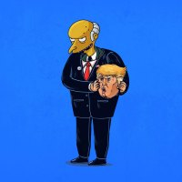 Artist Unmaskes Famous Cartoon characters.