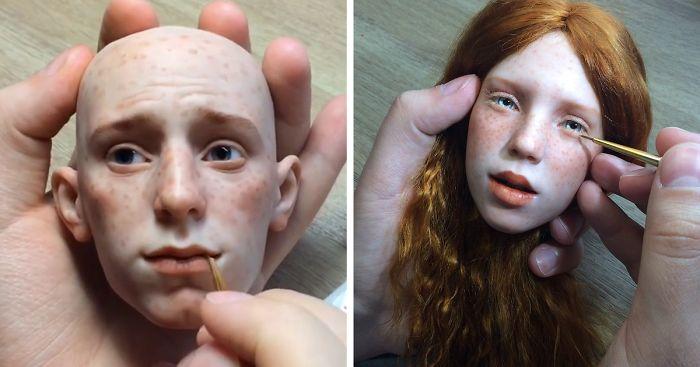 russian artist creates stunningly