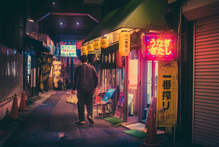 Magical Night Photography Of Tokyos Streets by Masashi