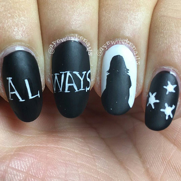 15 Harry Potter Nail Art Ideas That Are Pure Magic