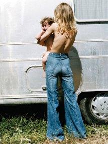 Hippie Girl Woodstock 1969