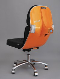 Old Vespas Turned Into Modern Office Chairs | Bored Panda