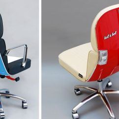 Cool Modern Office Chairs Best Bean Bag For Gaming Old Vespas Turned Into Bored Panda