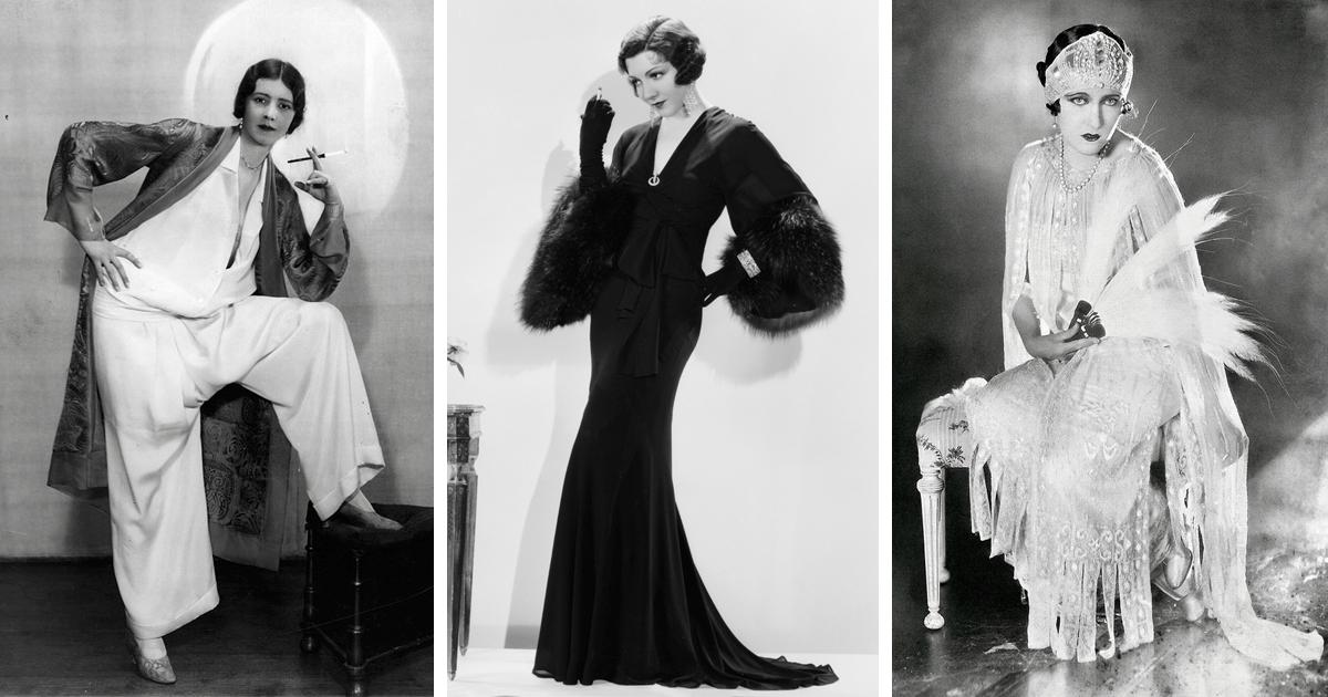 Roaring Twenties Hairstyles And Dresses