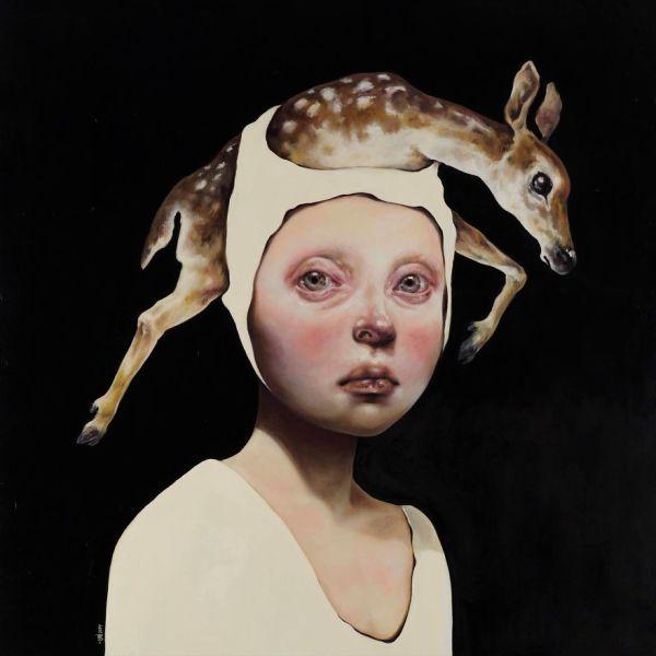 Surreal Portrait Paintings of Women