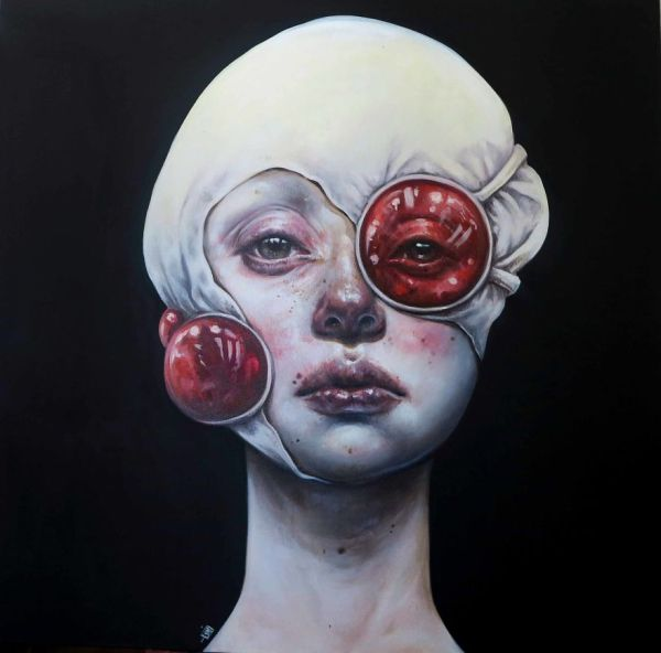 Surreal Portrait Art Paintings
