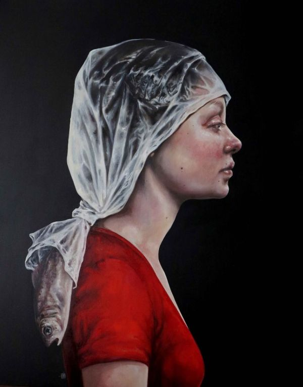 Surreal Portrait Paintings of Women