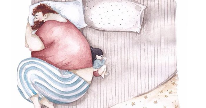 heartwarming illustrations about the