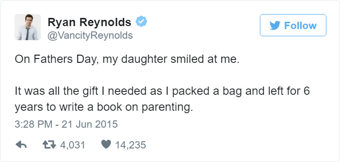 Ryan Reynolds' Hilariously Honest Tweets About His