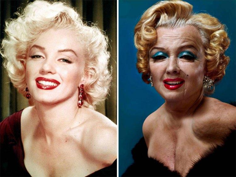 Marilyn Monroe By Andrzej Dragan