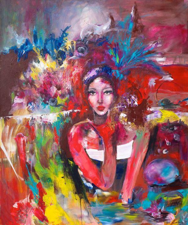 Colorful Mermaid Paintings