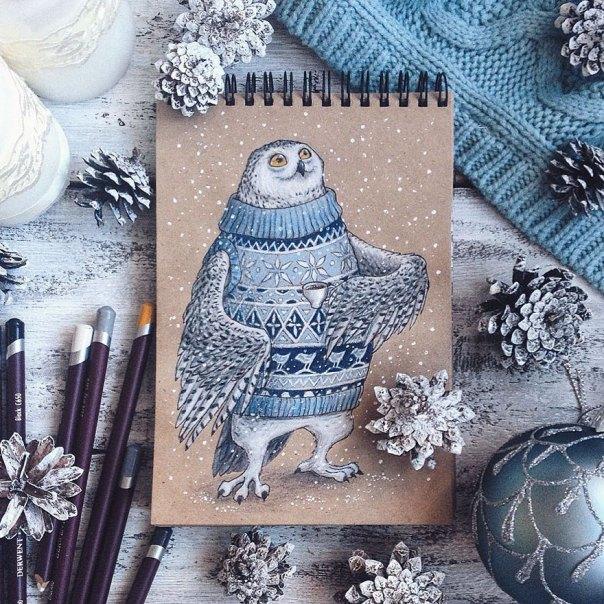 cuento de hadas-ilustraciones a todo color lápiz-lia-selina-26