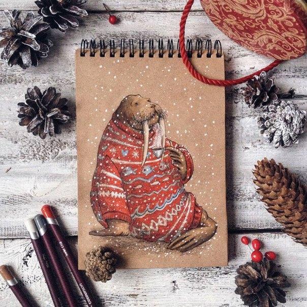 cuento de hadas-ilustraciones a todo color lápiz-lia-selina-31