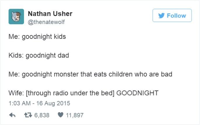 Funny Fatherhood Tweets