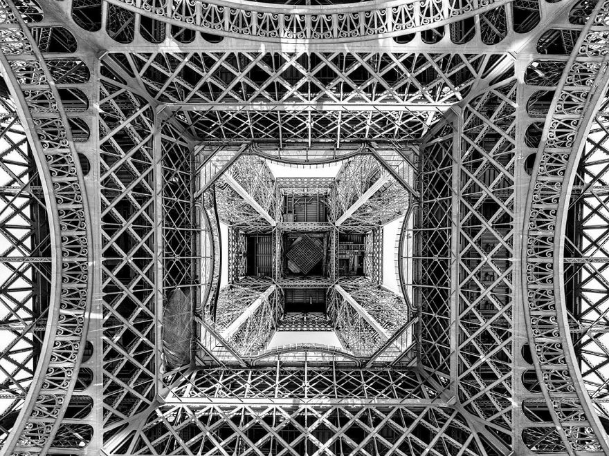 Beneath The Eiffel Tower, France