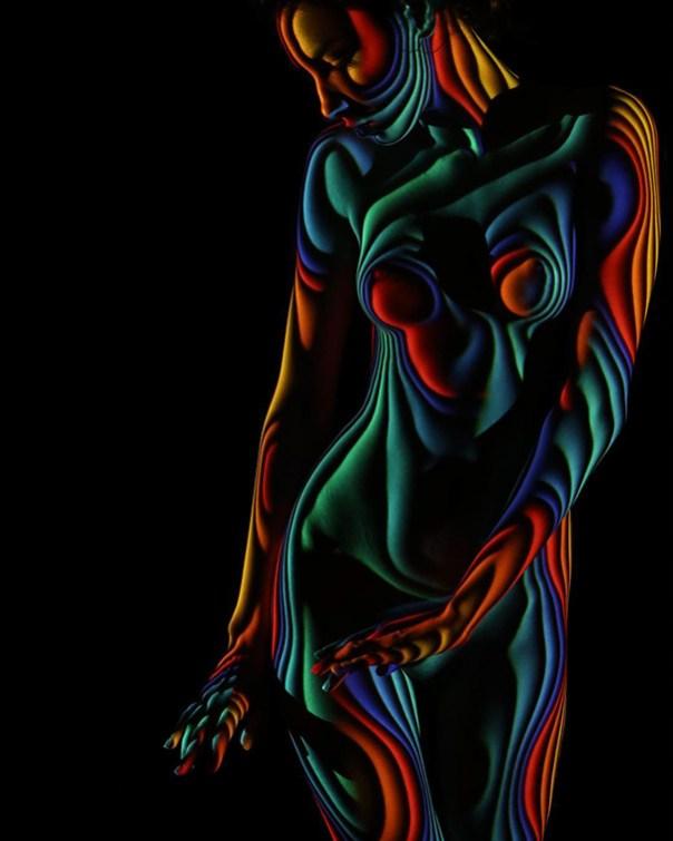 mujer-retratos-luz-rayas-patrones-sombra-fotografía-Dani-Olivier-14