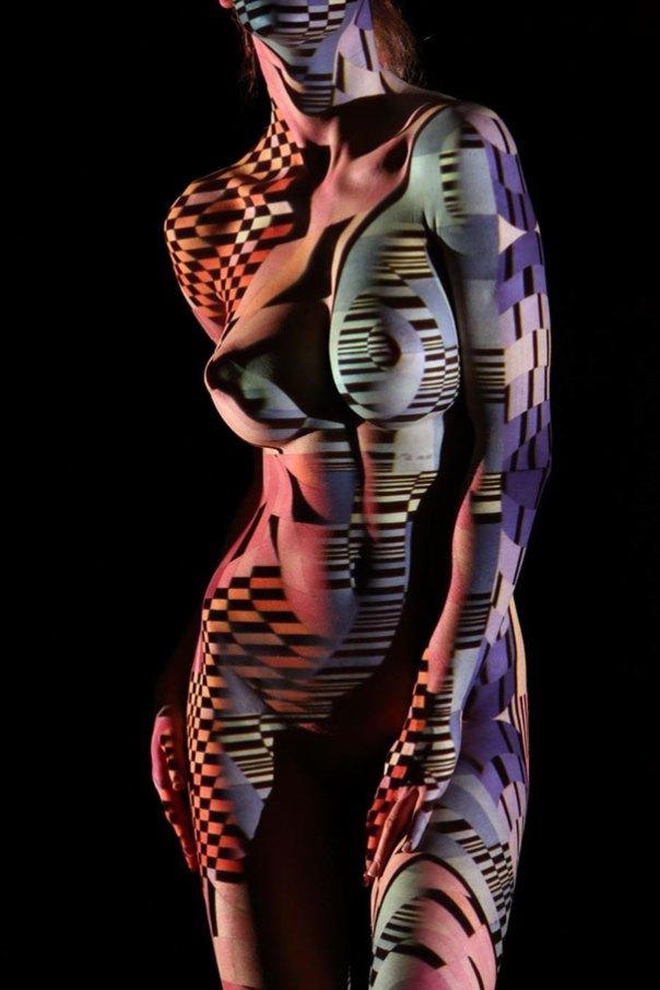 mujer-retratos-luz-rayas-patrones-sombra-fotografía-Dani-Olivier-6