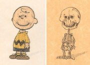 artist reveals skeletons of