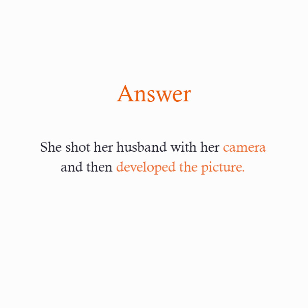 Can You Solve These Riddles Without Looking At The Answers ...