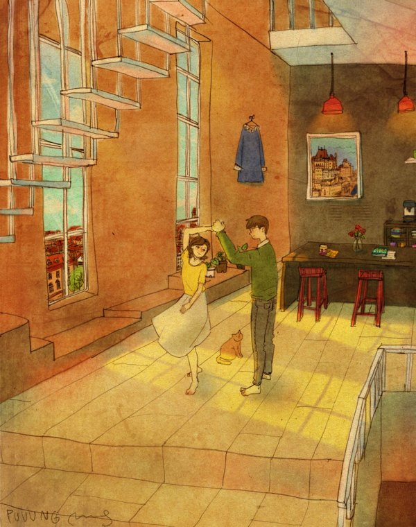 What Real Love Is Korean Artist Illustration