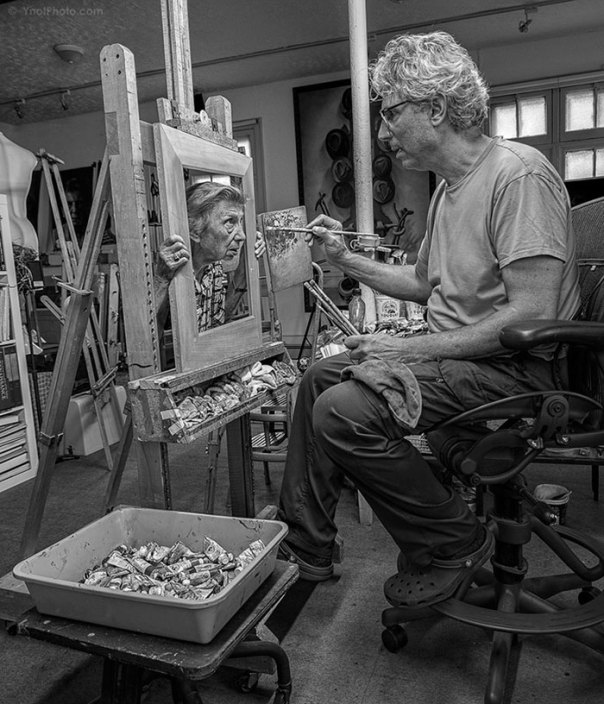 De 91 años de edad de la madre de edad avanzada-women-extrañas-unos-tony-Luciani-6-lúdico-fotografía