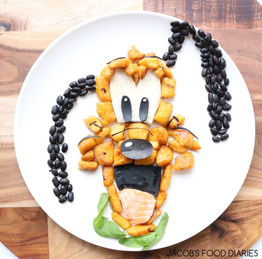 Pluto. Pumpkin, Potato And Spelt Gnocchi With Wild Australian Salmon, Black Beans And Spinach
