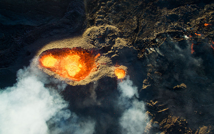 3rd Prize Winner – Category Nature Wildlife: Piton De La Fournaise, Volcano