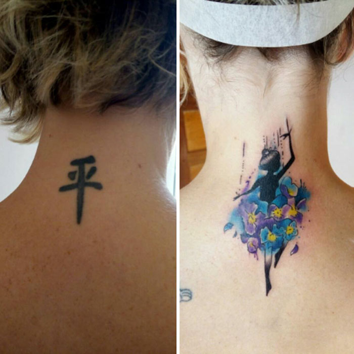 Best Small Cover Up Tattoos