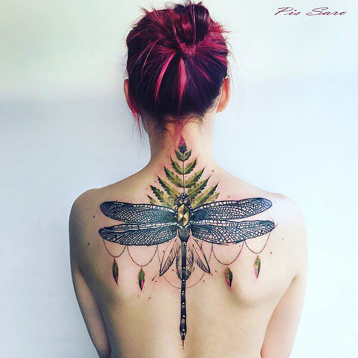 Ethereal Τατουάζ Φύση Εμπνευσμένο Με αλλαγή των εποχών