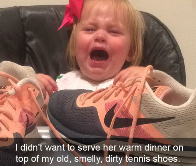 I Didnt Want To Serve Her Warm Dinner On Top Of My Old Smelly Dirty Tennis Shoes