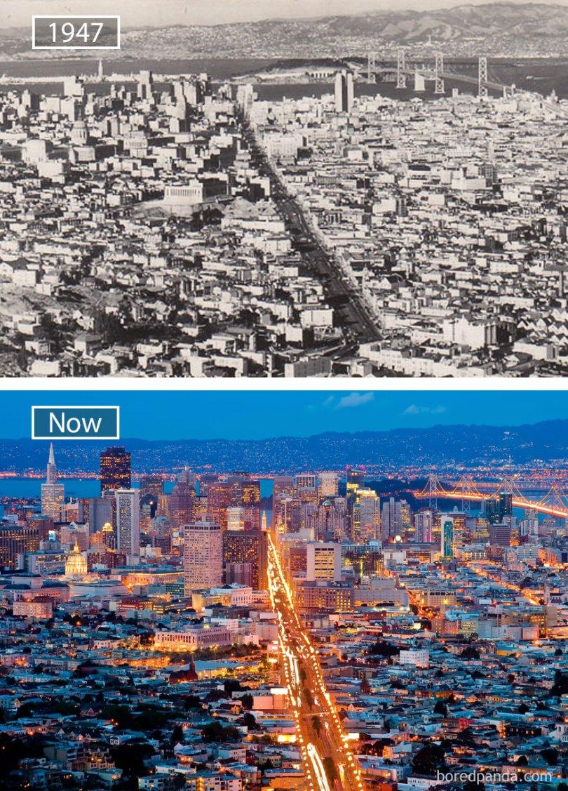 how famous city changed timelapse evolution before after 28 577e0344ab448  880 - Evolução das metrópoles do mundo
