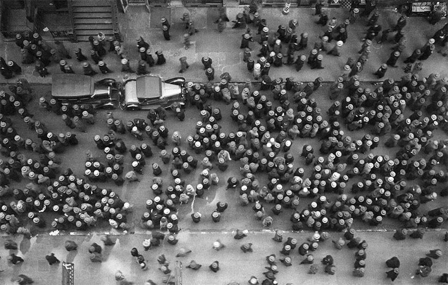 Hats In New York, 1930