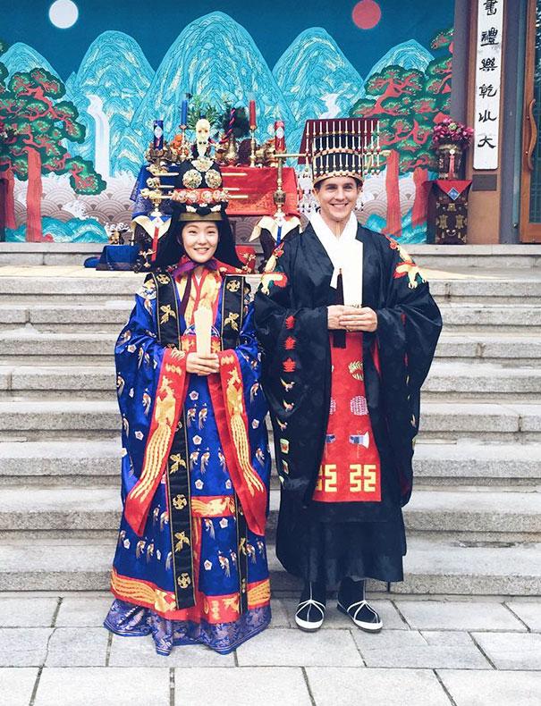 Korean Traditional Royal Wedding Costumes