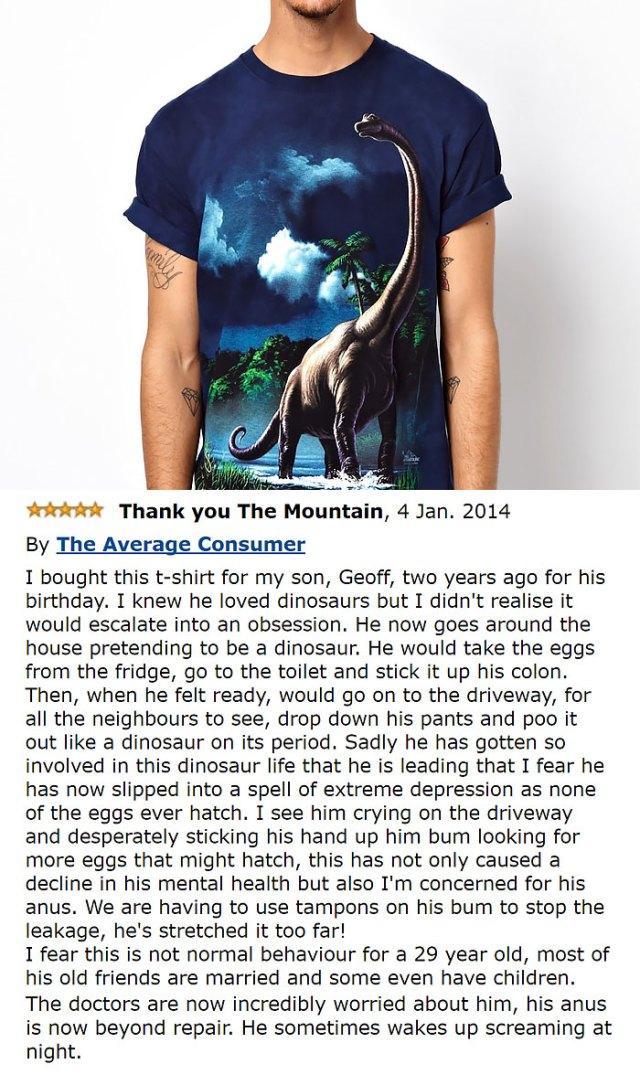 The Mountain Men's Brachiosaurus T-shirt