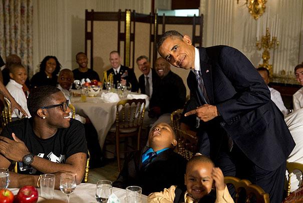 Sonnecchiando Davanti Il Presidente