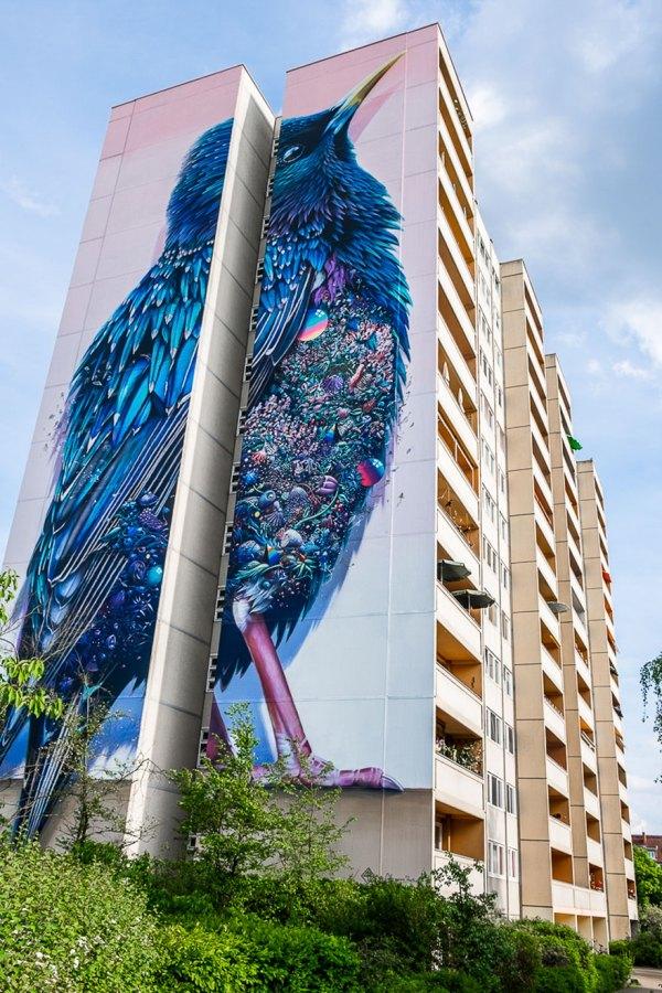 Murals of Street Art Berlin