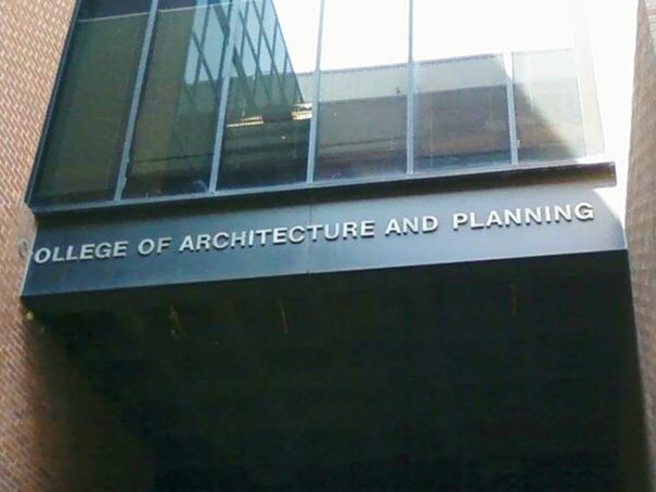 """College Of """"Planning"""""""