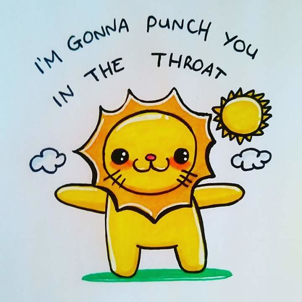 15 Offensively Cute Greeting Cards Warning Strong