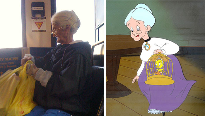 Grandma From Tweety